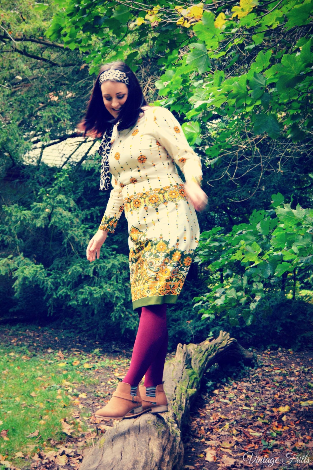 Seventies Autumn Outfit