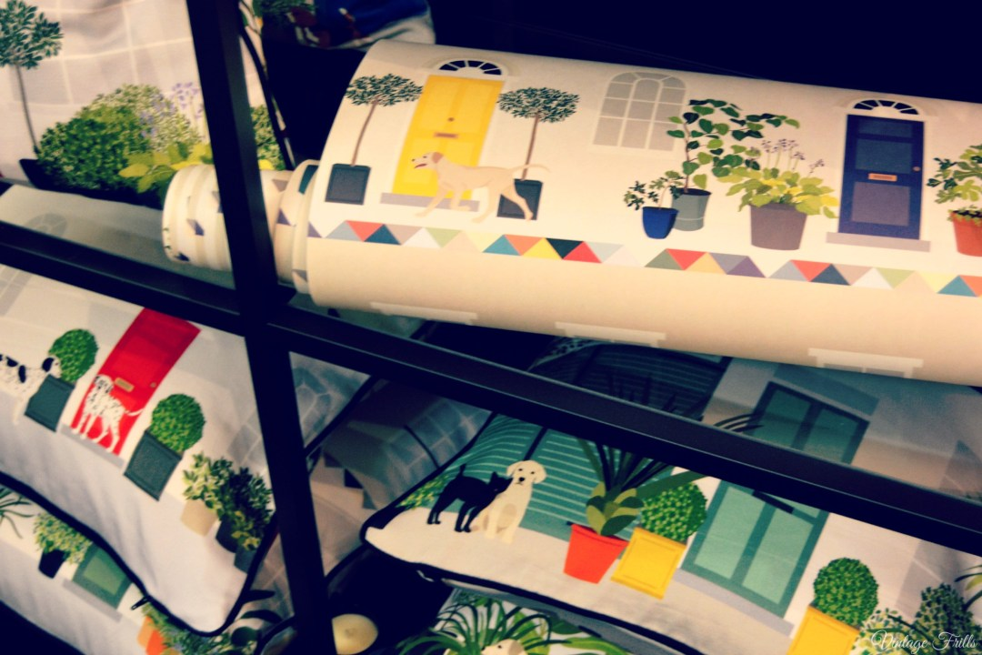 Tent London 2015 Ottoline Wallpaper and Cushions