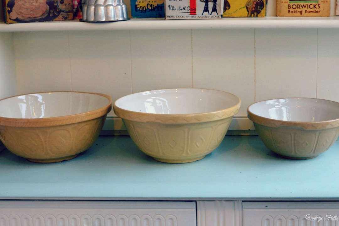 Vintage Mason Cash Bowls