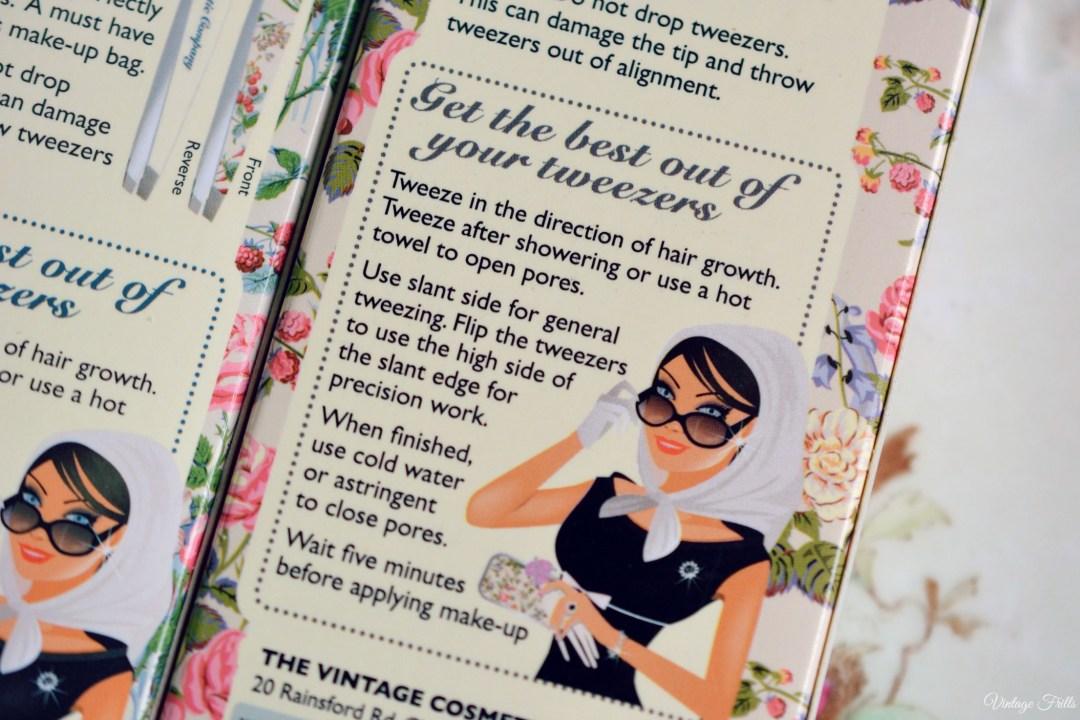 The Vintage Cosmetic Company Tweezers