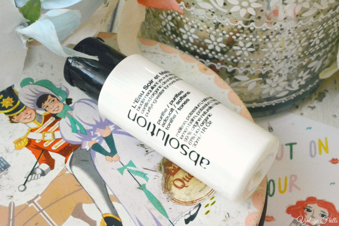 Birch box January 2016 Absolution Cleansing Water