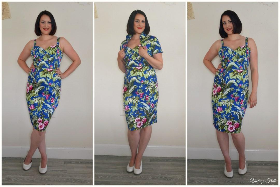 Lindy Bop Tiki Dress