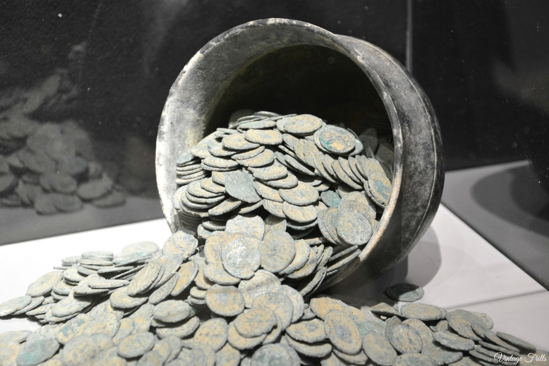 Olympia Art and Antiques fair Ancient Coin Hoard