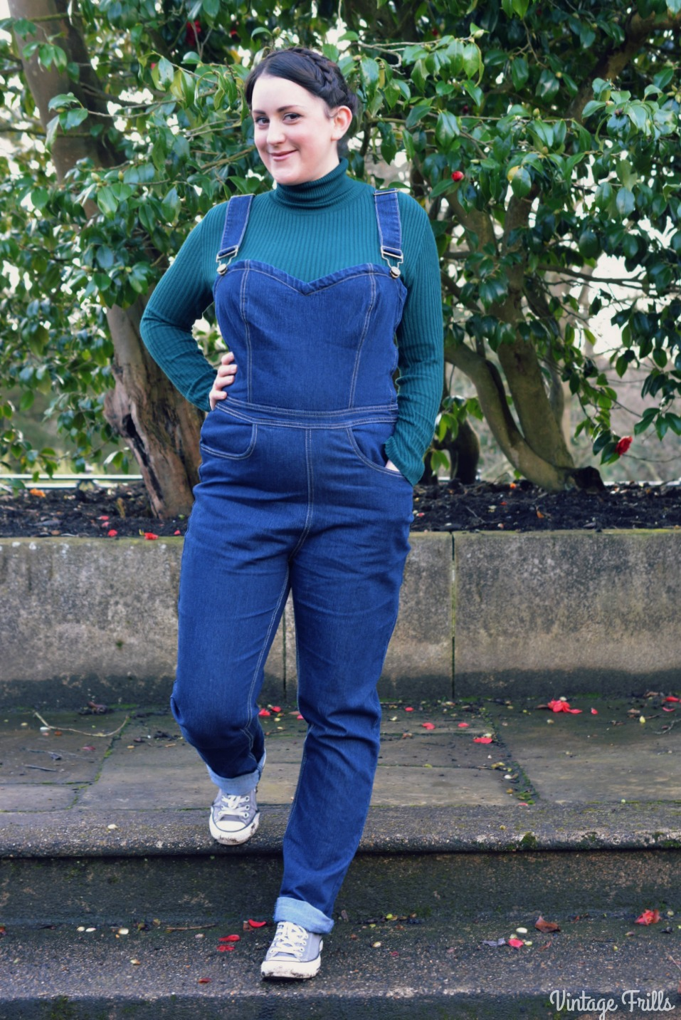 Collectif Denise Dungarees
