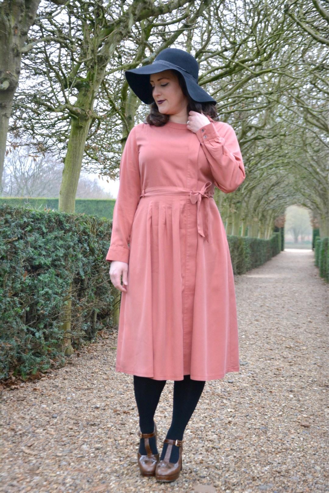 Laura Ashley Pink Dress 1