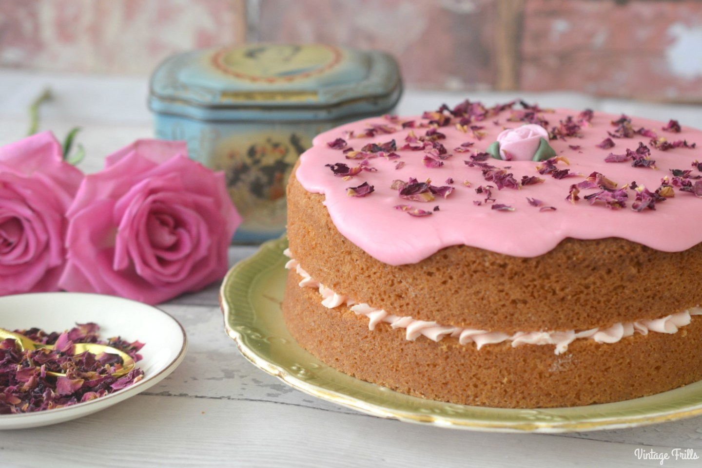 Rose Water Cake Recipe