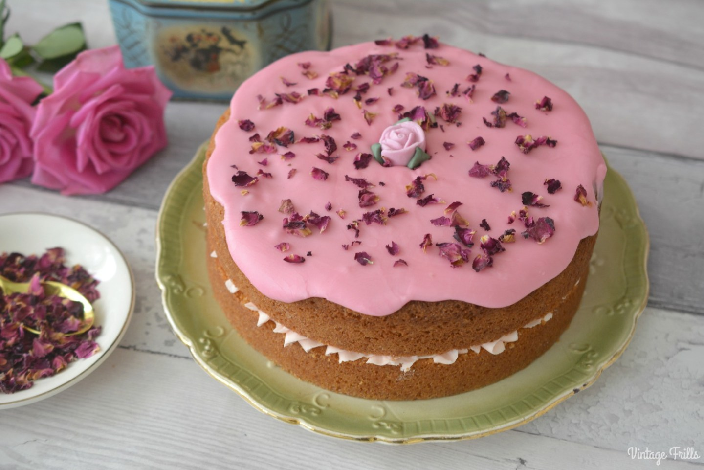 Baking – Rose Water Cake