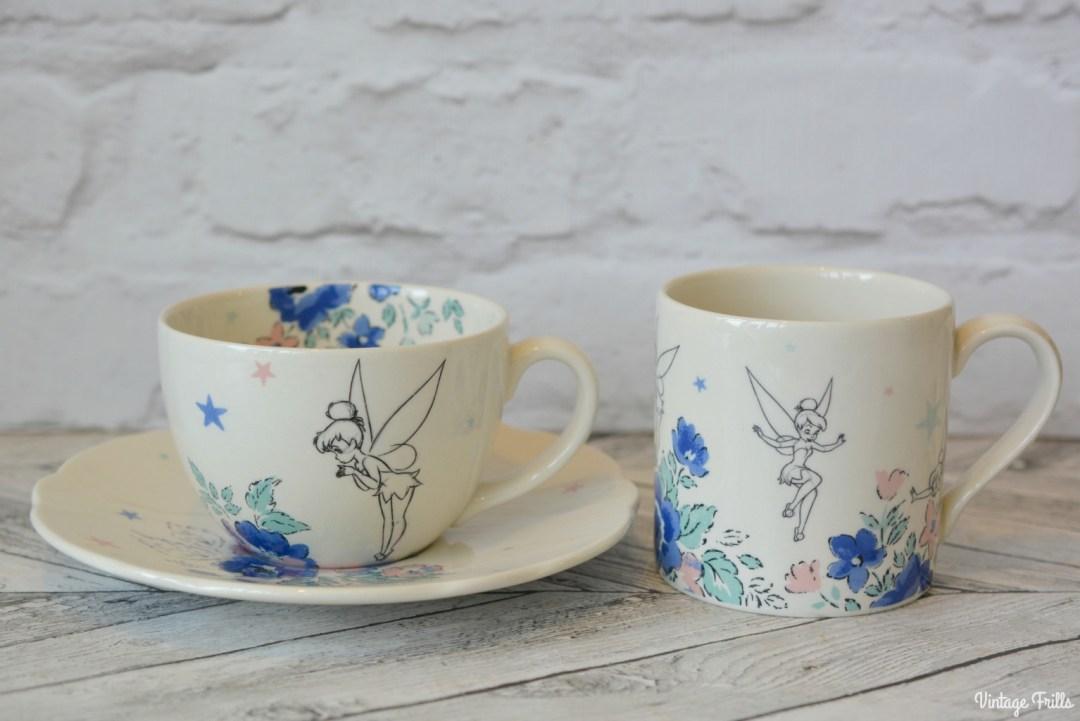Cath Kidston Disney Tinker Bell Tea Cup and Saucer and Mug