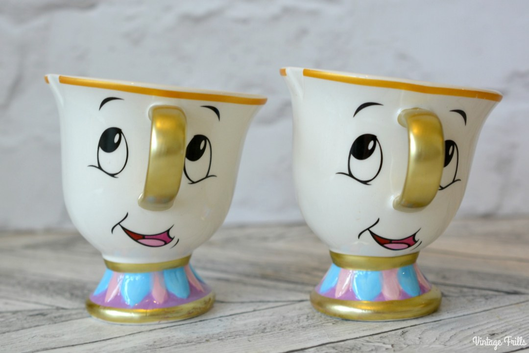 Primark Disney Beauty and The Beast Chip Mugs