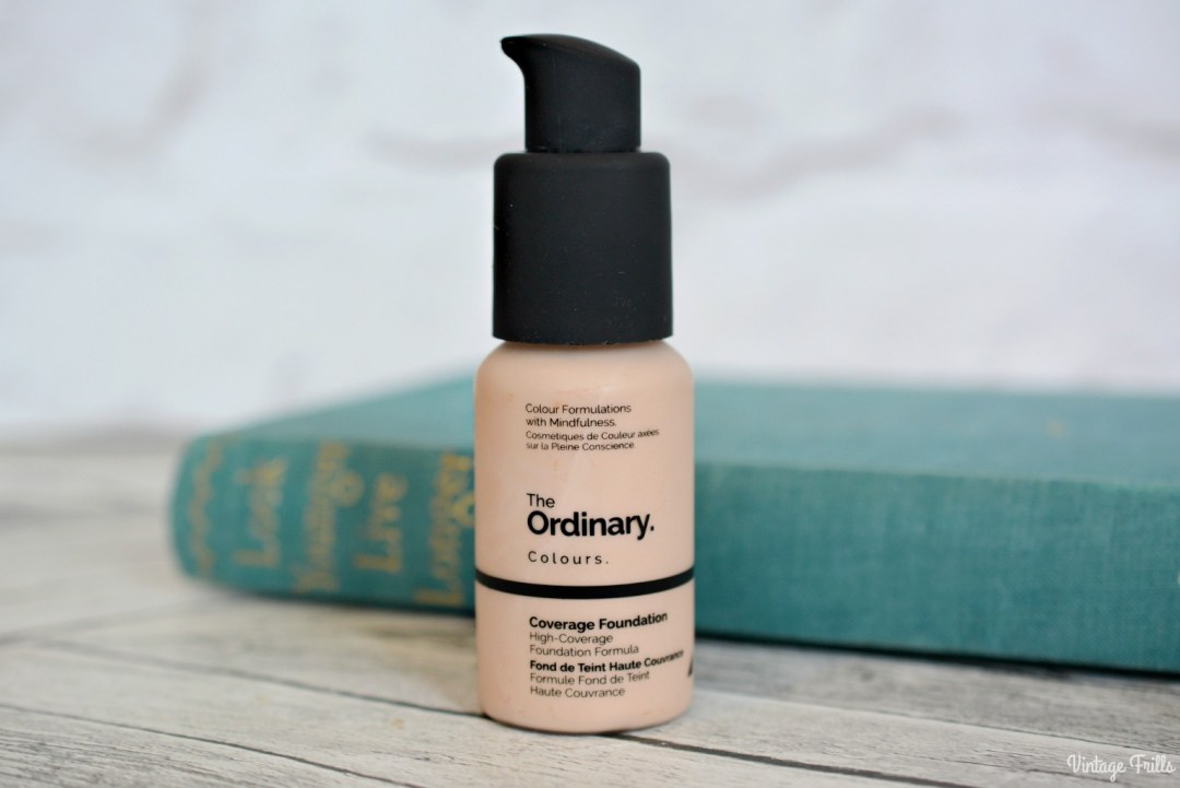 February 2018 Beauty Favourites | The ordinary Coverage Foundation