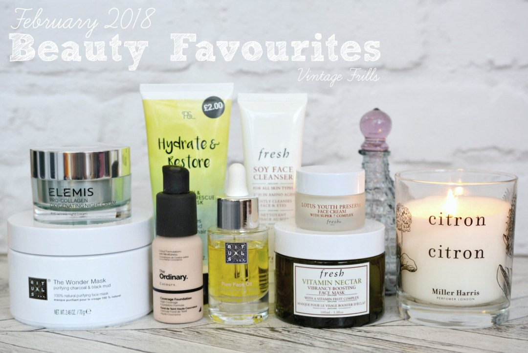 February 2018 Beauty Favourites