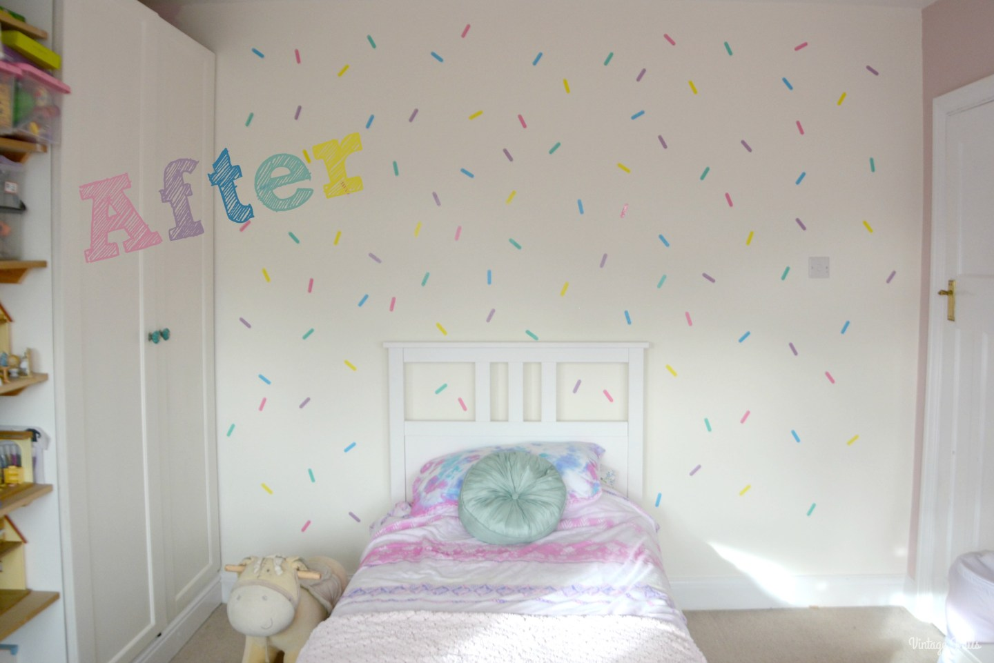 Ice Cream Theme Sprinkle wall decals