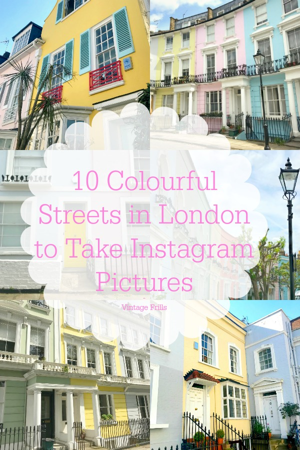 10 Colourful Streets in London to Take Instagram Pictures