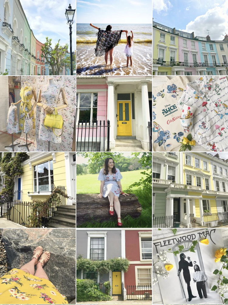Yellow Instagram theme