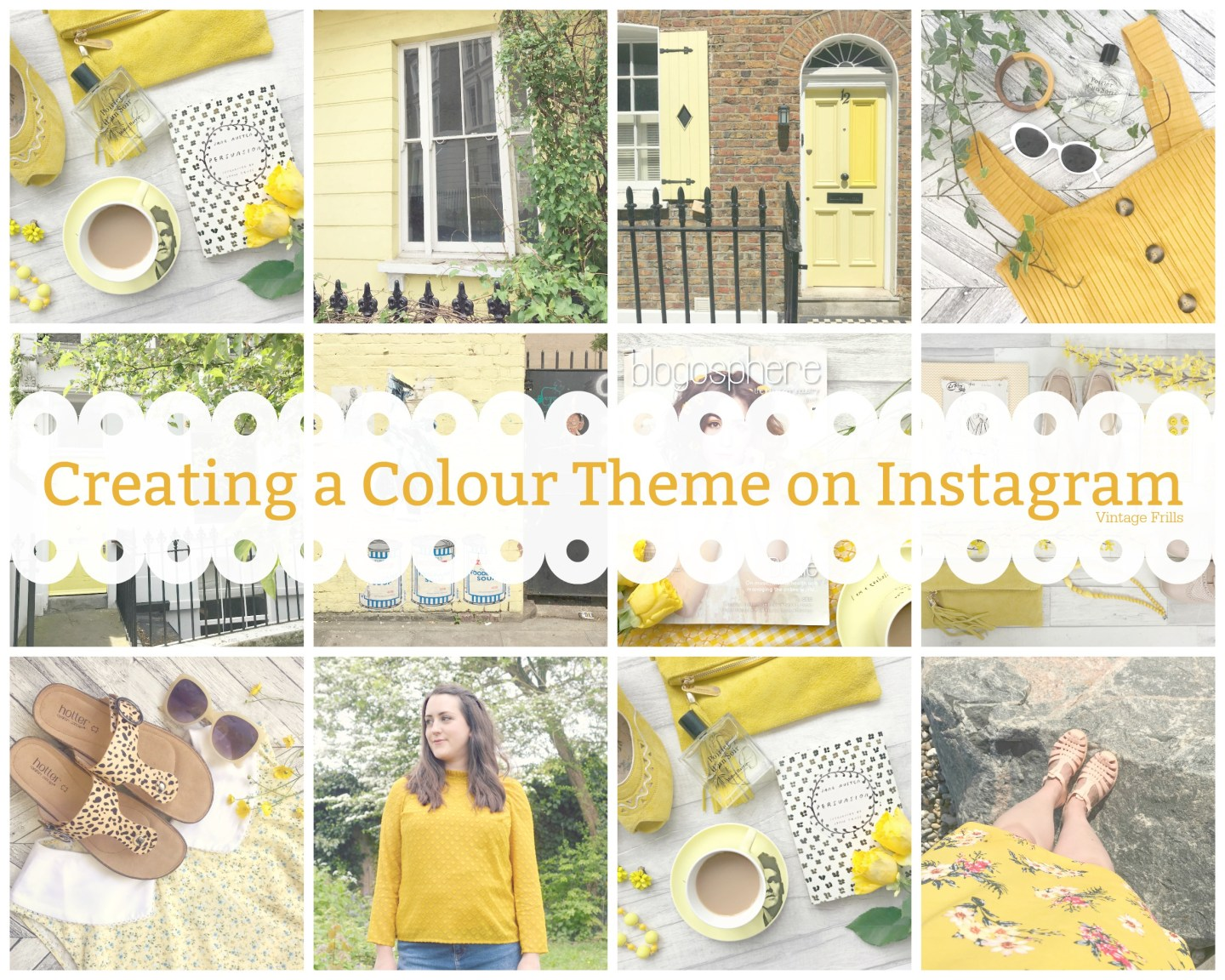 Yellow Instagram theme