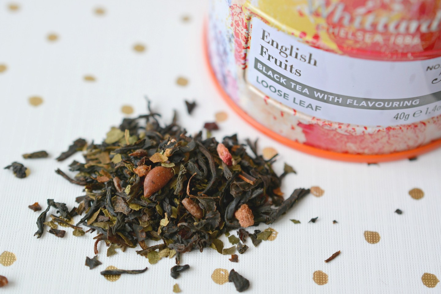 Joining the Loose Leaf Tea Revolution! Whittard English Fruits tea.