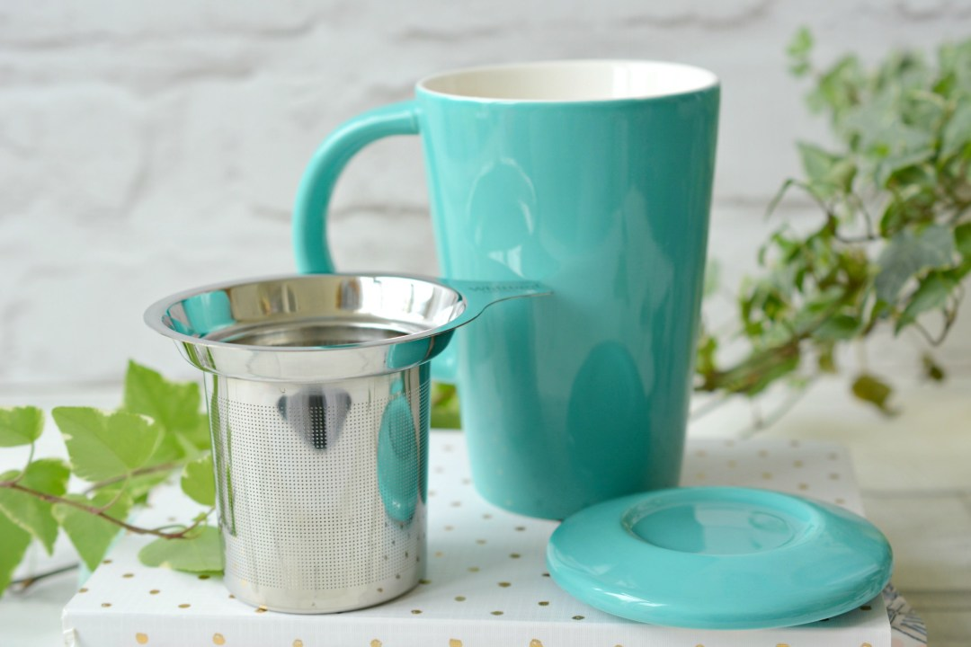 Joining the Loose Leaf Tea Revolution! Whittard Pao infuser mug