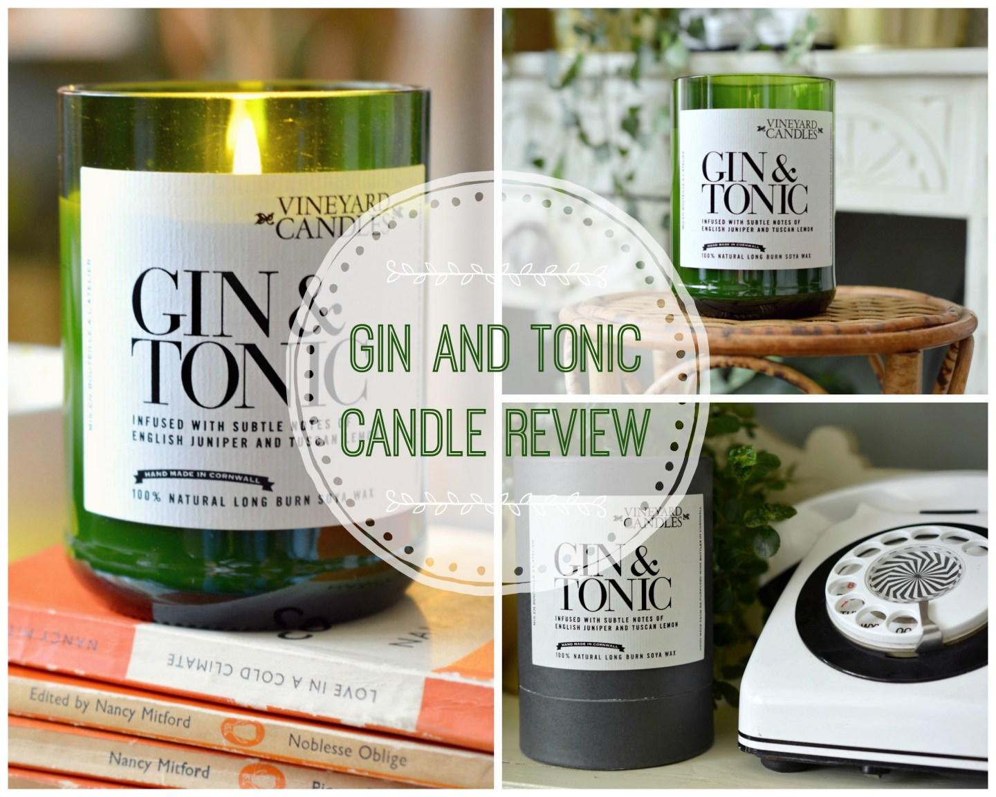HOME – A Gorgeous Gin and Tonic Candle with Upcycled Packaging