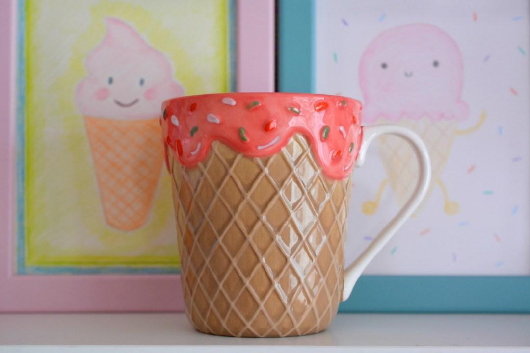 Ice Cream Theme   Ice Cream Bedroom Haul