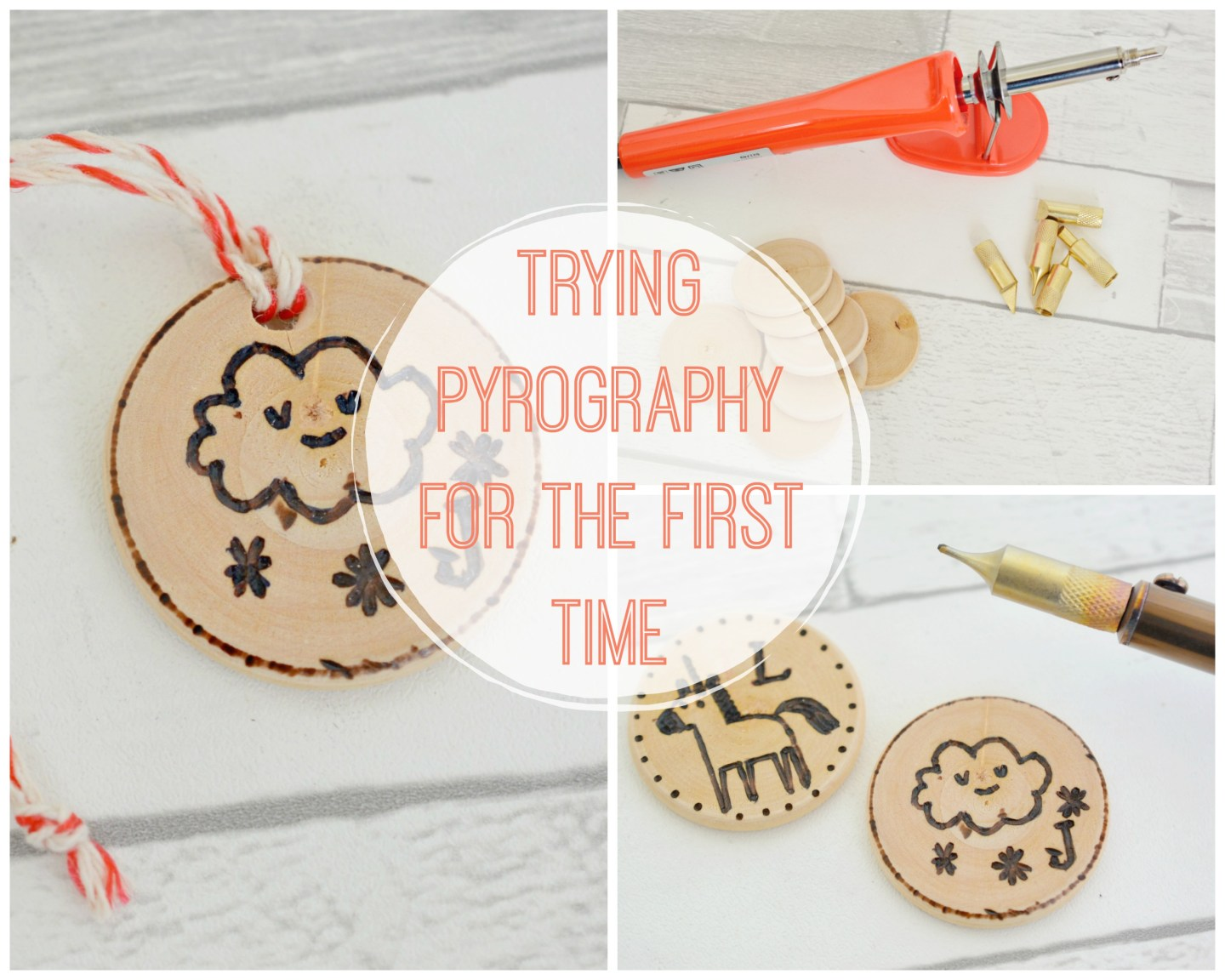 CRAFT – Trying Pyrography For the First Time