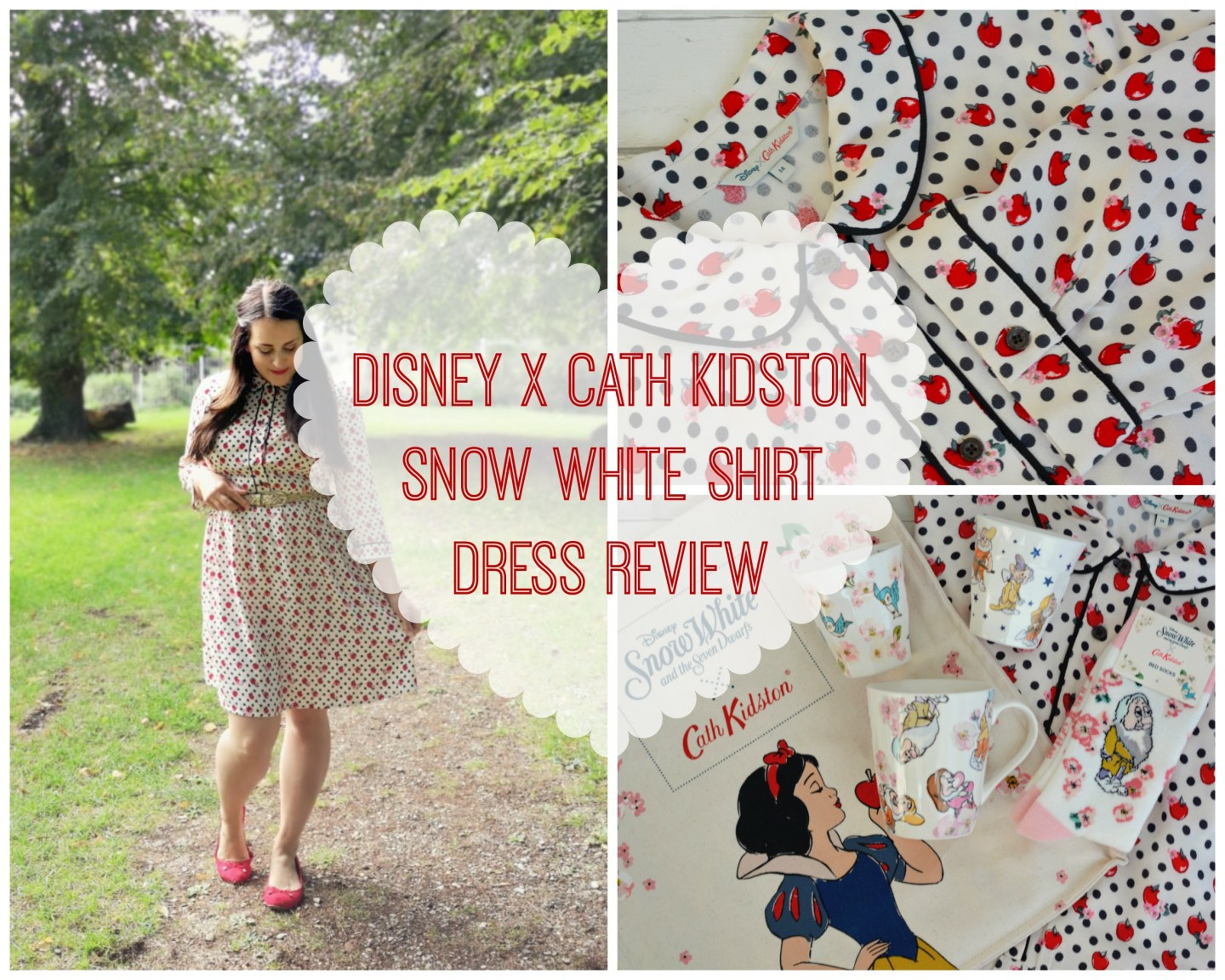 FASHION – The Fairest of Them All – Disney x Cath Kidston Snow White Shirt Dress Review