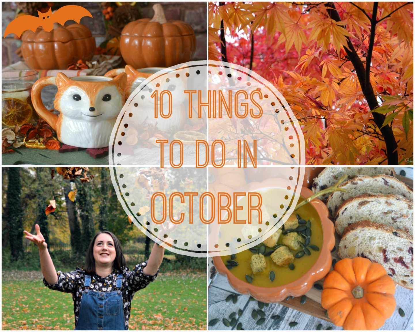 Autumn is Here! – 10 Things to do in October