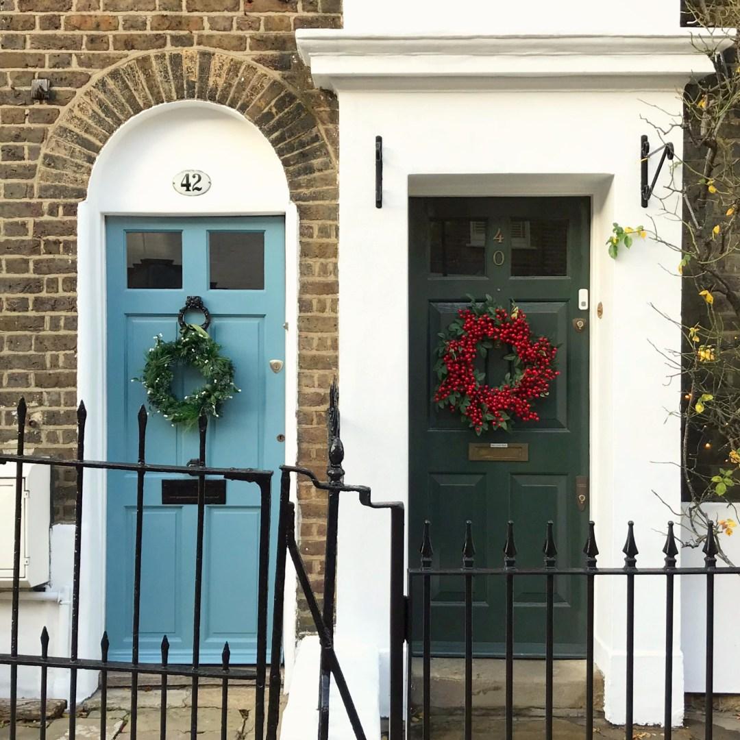 A Little London Wreath Walk
