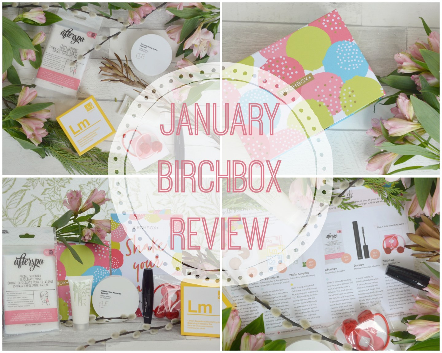 What's in my January Birchbox 2019