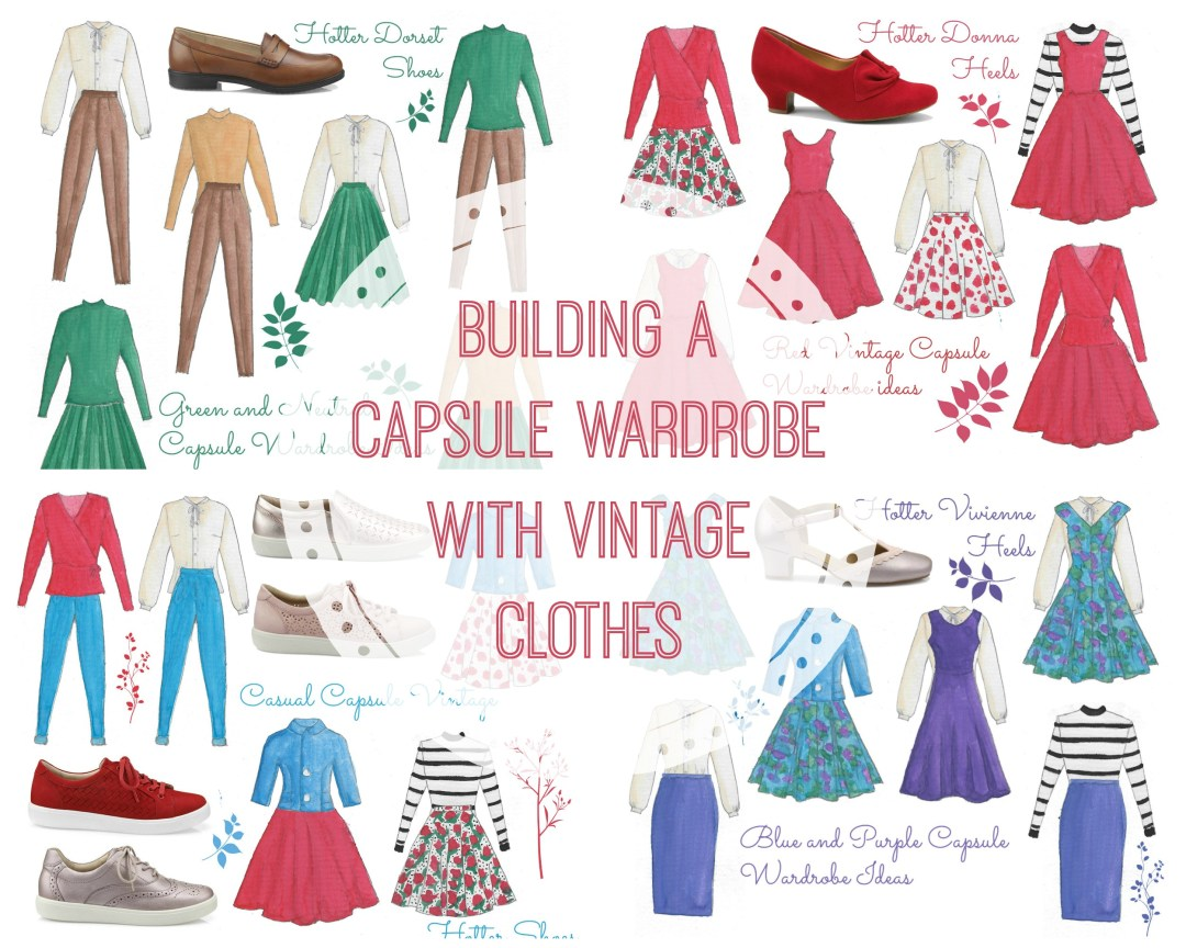 How to Build a Vintage Capsule Wardrobe