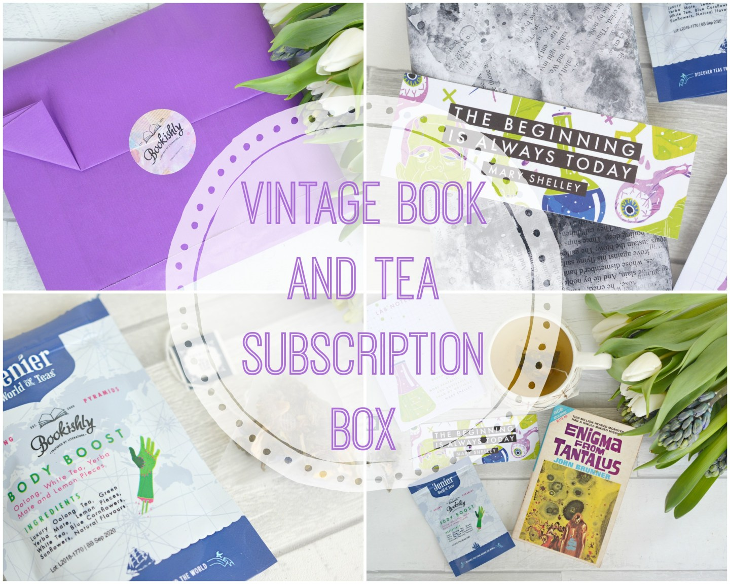 A Monthly Vintage Book and Tea Subscription Box from Bookishly and uOpen review | Vintage Frills