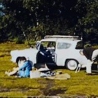Burnham Beeches in a Ford Anglia