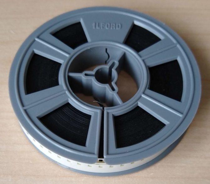 Standard 8 Home movie reel