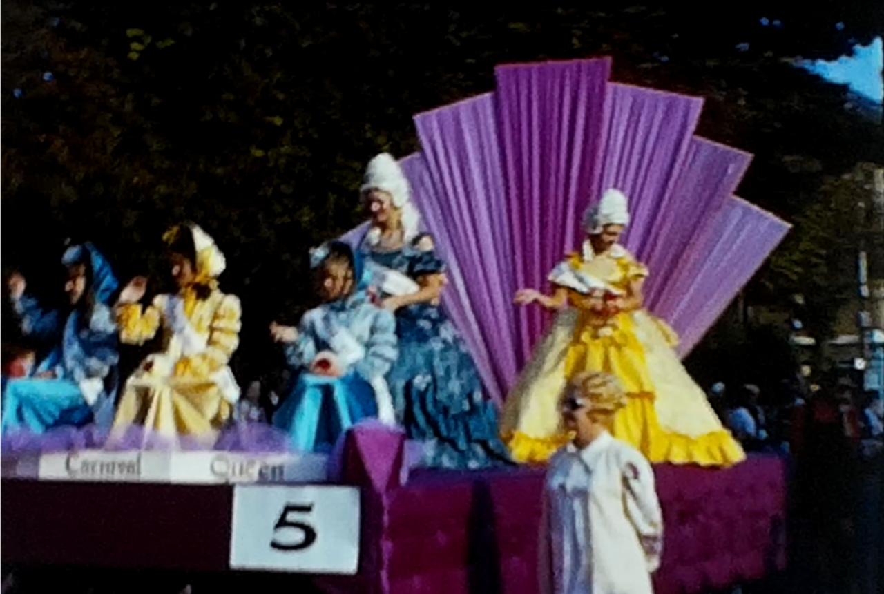Newport Carnival film shot in 1971