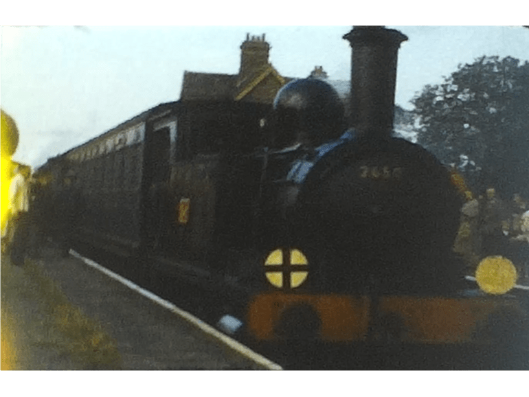 Charming Bluebell line Steam Railway film from 1963 3