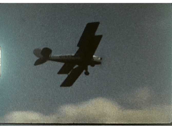 A poorly exposed Airshow film from the 1970s 1