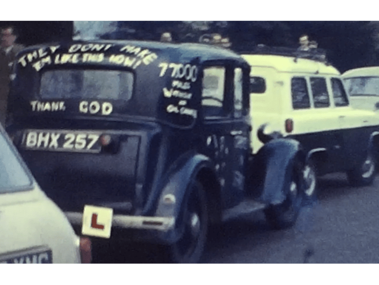 An image from one of the 100 films posted on Vintage Home Movies