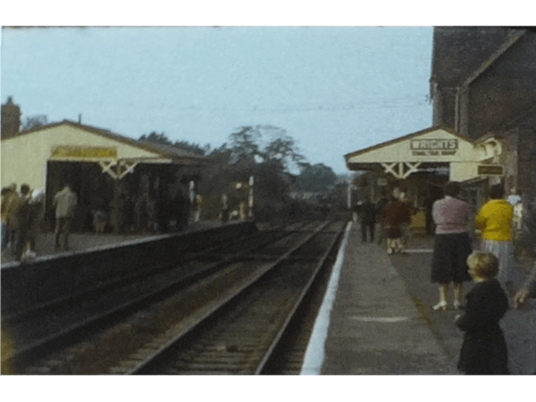 Charming Bluebell line Steam Railway film from 1963 1