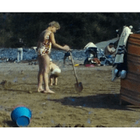 A fun family Camping holiday in Devon from 1969