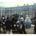 A still image from a vintage home movie taken during a trip to France in about 1958