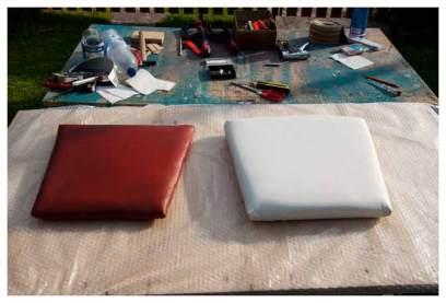 Sitzkissen im Vergleich