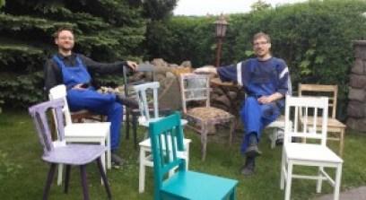 Robert und Sebastian in Panketal
