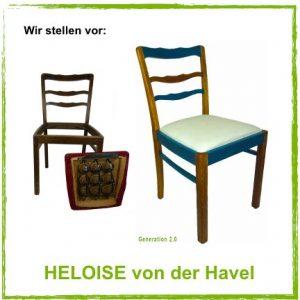 Vintage - vom Stuhl aufwärts: Wir stellen vor - HELOISE von der Havel