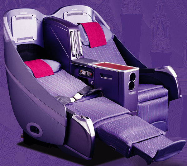 Image result for thai business class 747