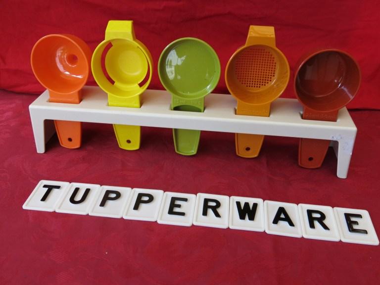 ustensiles de cuisine vintage Tupperware