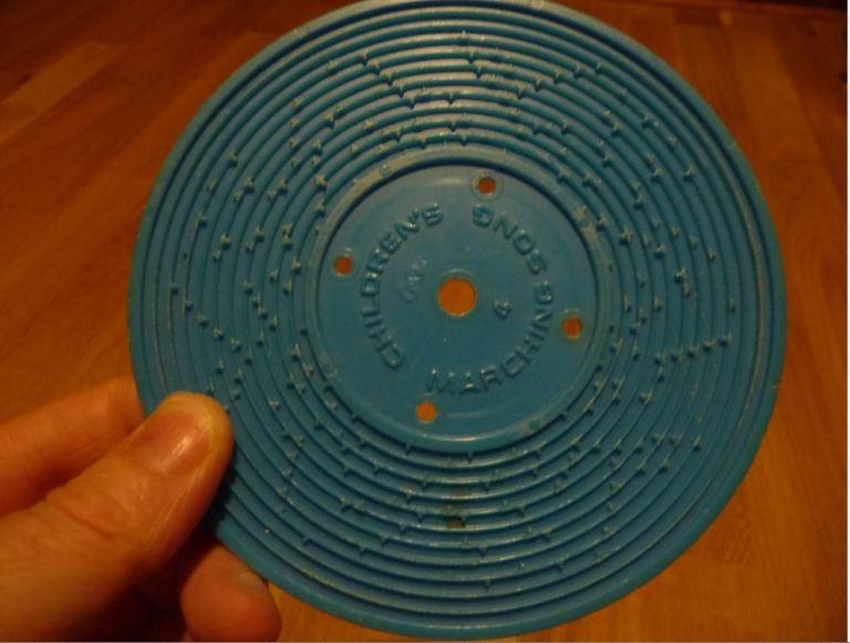 Tourne disque Fisher Price Disque bleu
