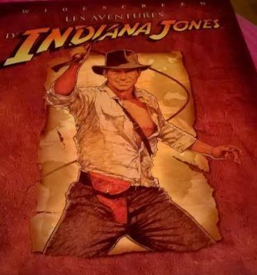 pochette de DVD Harrison Ford les aventures d'Indianan Jones