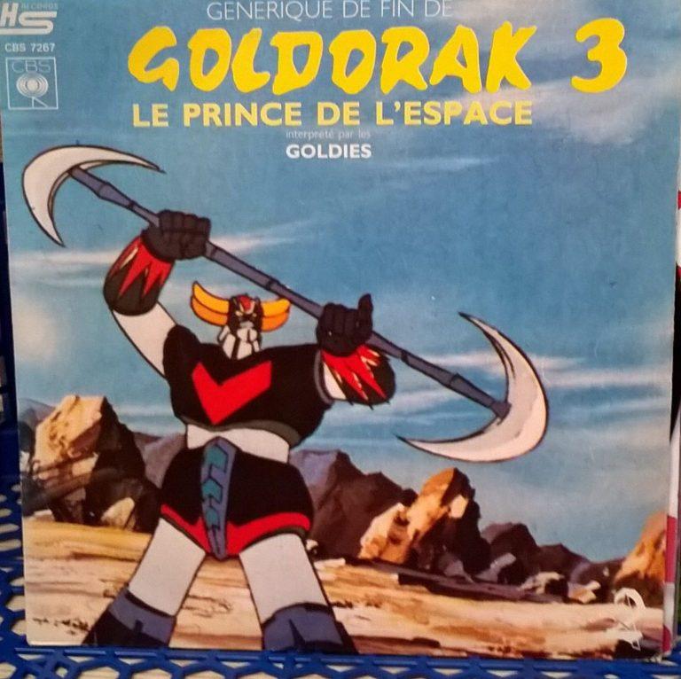 Goldorak le robot de l'espace pochette de 45 tours