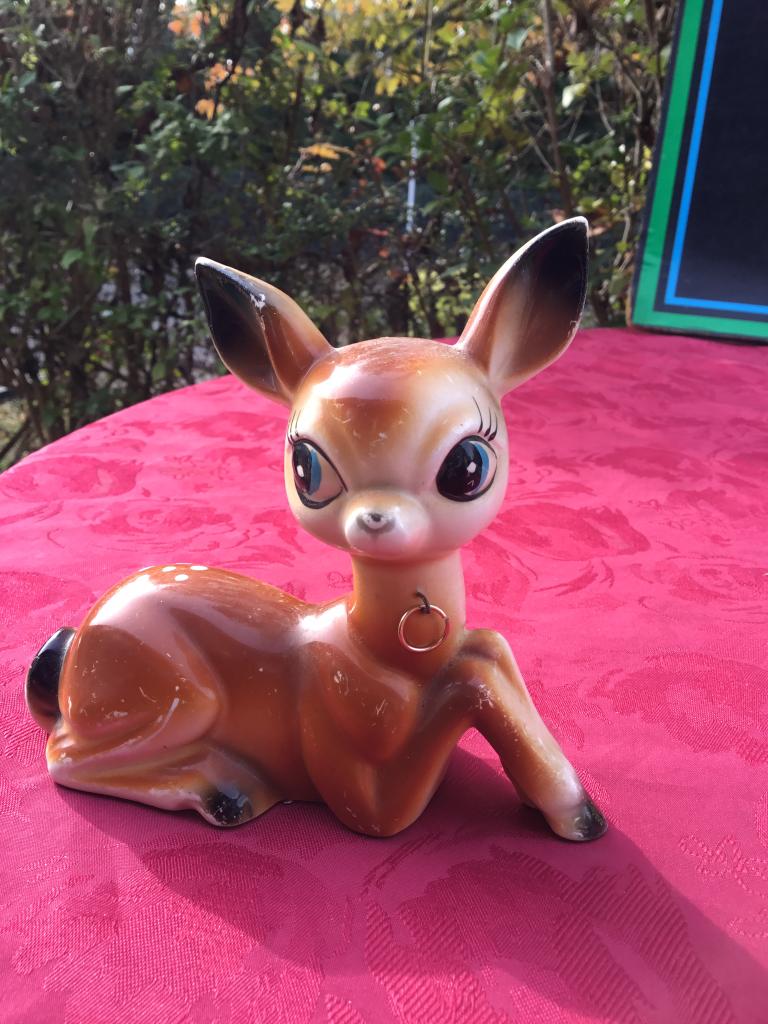 Bambi vintage en céramique