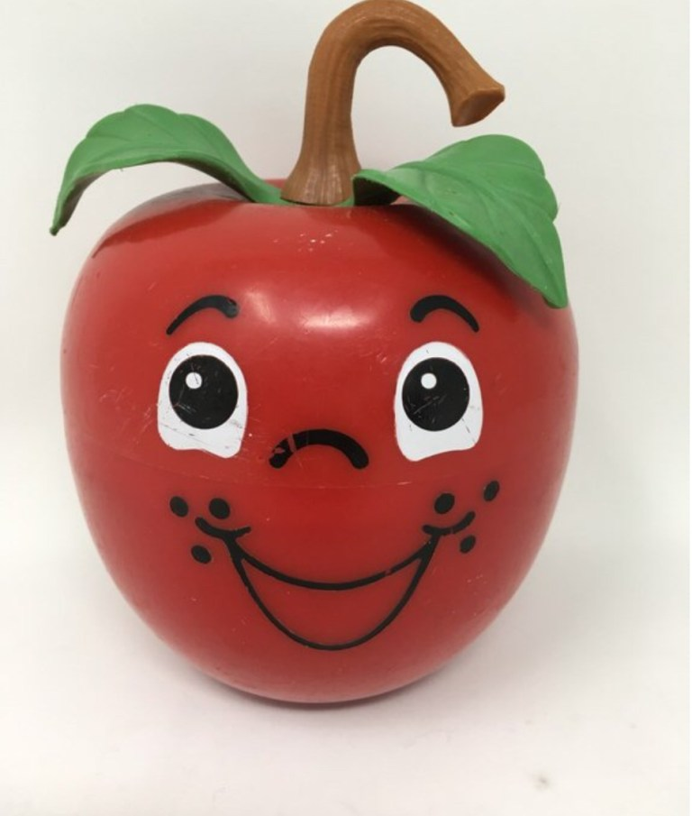 Pomme Happy Apple Fisher Price version 1