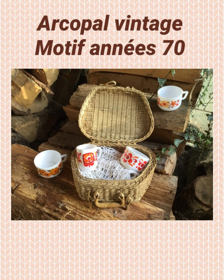 Arcopal motif Knorr Mobik Lotus et Flore